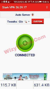 Stark vpn settings Glo cheat