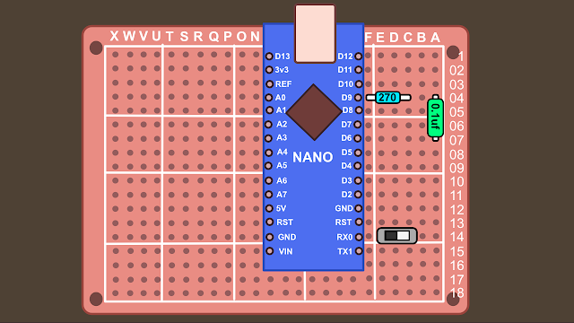 Synth build guide MIDI circuit 1
