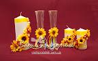 Декор свечей в укр стиле