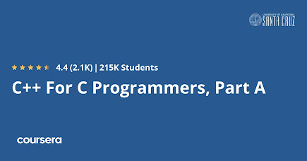 Best Coursera Course to learn C++ or C