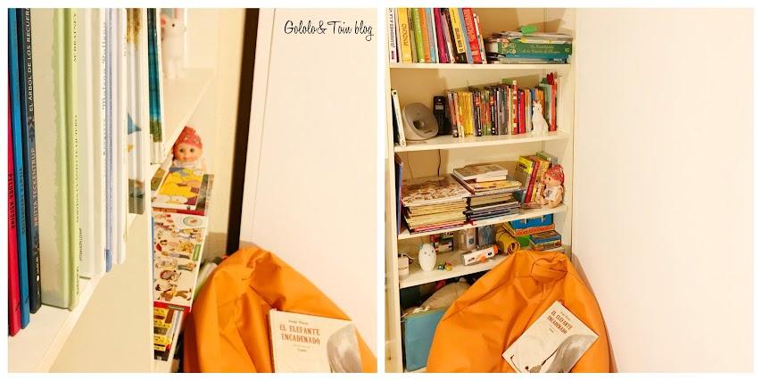Cómo hacer un rincón de lectura en habitación infantil