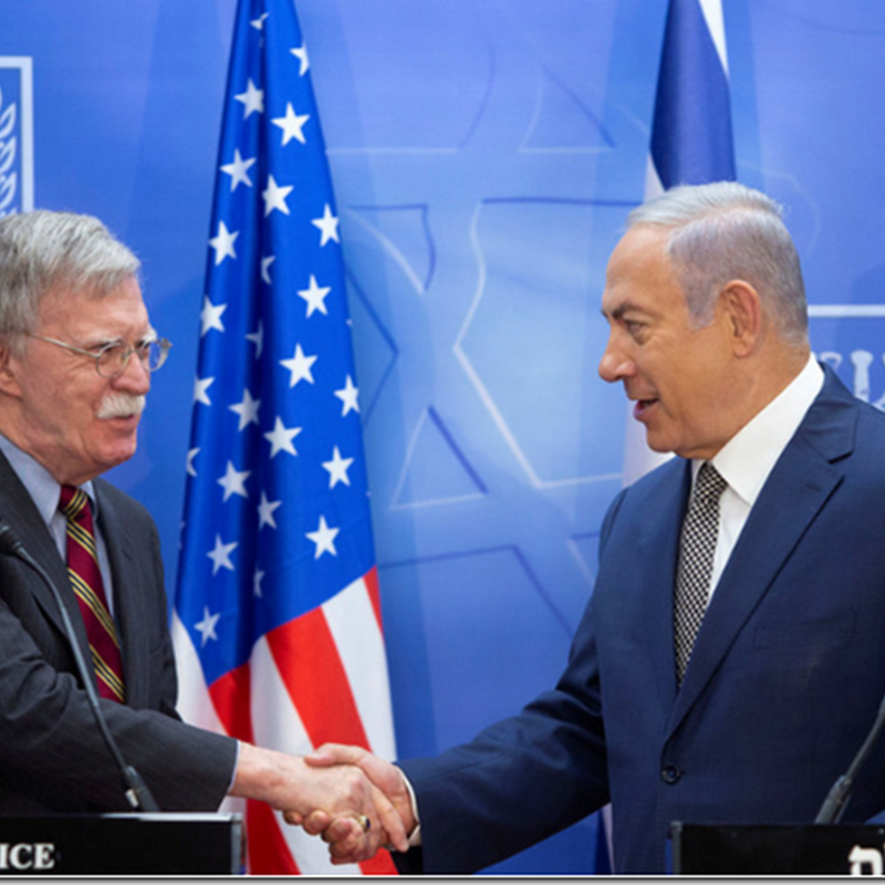 Bolton to Netanyahu: American Soldiers will die for Israel's sake