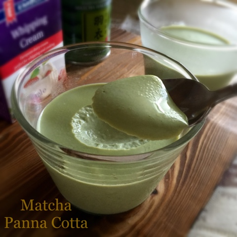 my mind patch matcha panna cotta. Black Bedroom Furniture Sets. Home Design Ideas