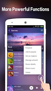 Music Player for Android-Audio- screenshot thumbnail