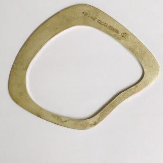 1000 Fine Sterling Mauricio Valdes  Bracelet