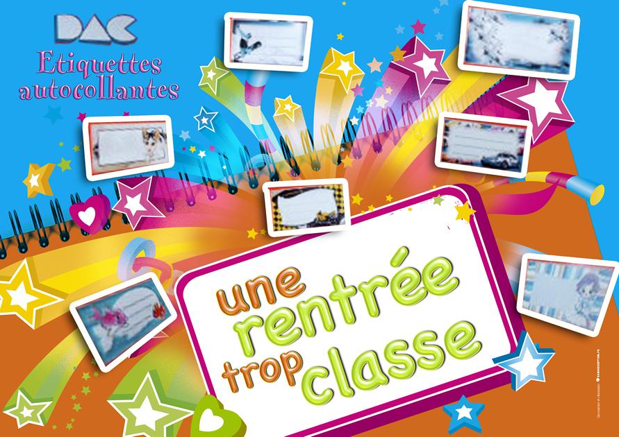 DAC etiquettes Fronton Rentree Des Classes 1 -SansException