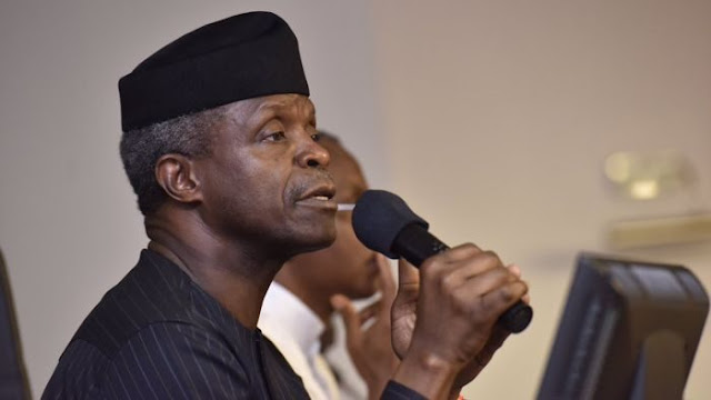 What Osinbajo said at Dogara's birthday thanksgiving service