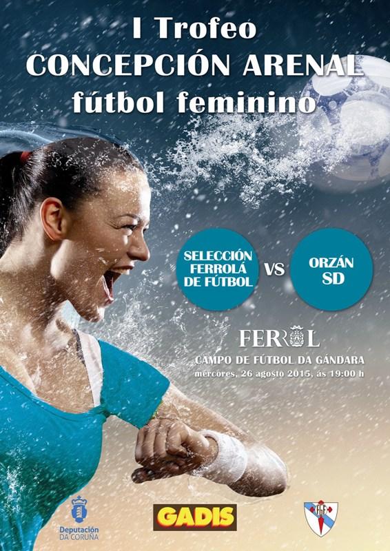 FUTBOL FEMININO. I TROFEO CONCEPCION ARENAL.