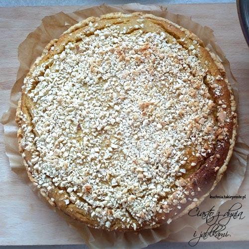 ciasto z dynia i jablkami