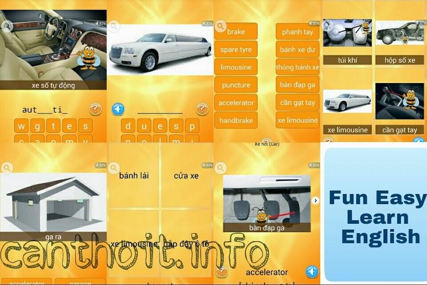 7 Trò chơi học từ vựng trong Fun Easy Learn English