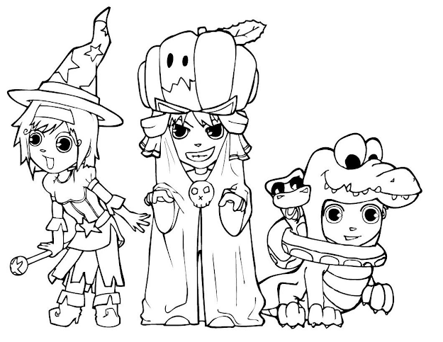Page Printable Halloween Coloring Pages Halloween Printable Coloring