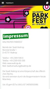 Waltroper Parkfest – Miniaturansicht des Screenshots