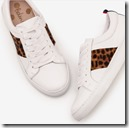 Boden Tan and Leopard Print Sneakers