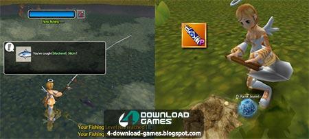 صيد وتنقيب لعبة اسدا العالمية Fishing & Digging