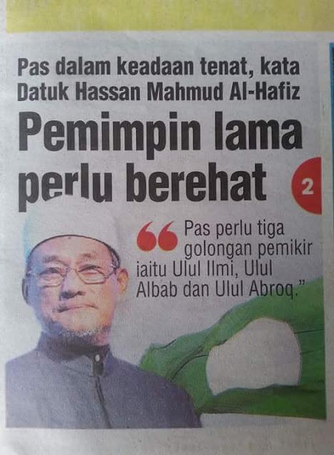 Kalau PAS dalam keadaan tenat, bagaimana dengan parti umno bn?