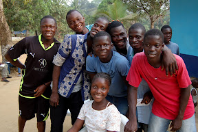 Children at the orphanage