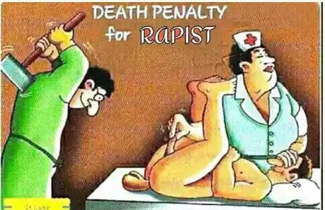 Image result for DEATH TO RAPISTS