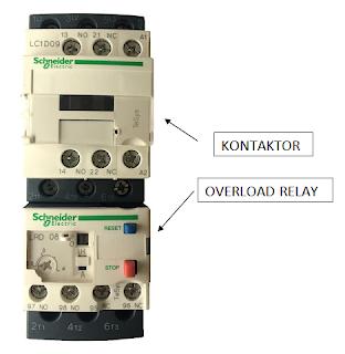 Cara pasang 1 pompa untuk dua rumah pake kontaktor, listriknya masing-masing