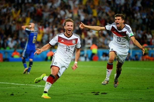 Mario Goetze Game-Winning Goal World Cup 2014 Final