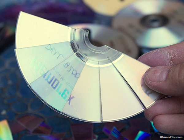 Manualidades discos CD Reclaje