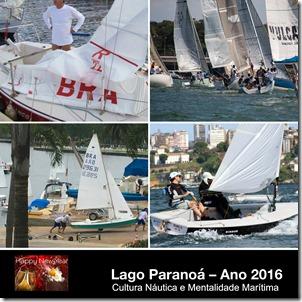 Livro Lago Paranoá - Ano 2016 Capa