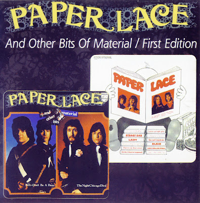 Paper Lace ~ 1974 ~ And Other Bits Of Material + 1972 ~ First Edition
