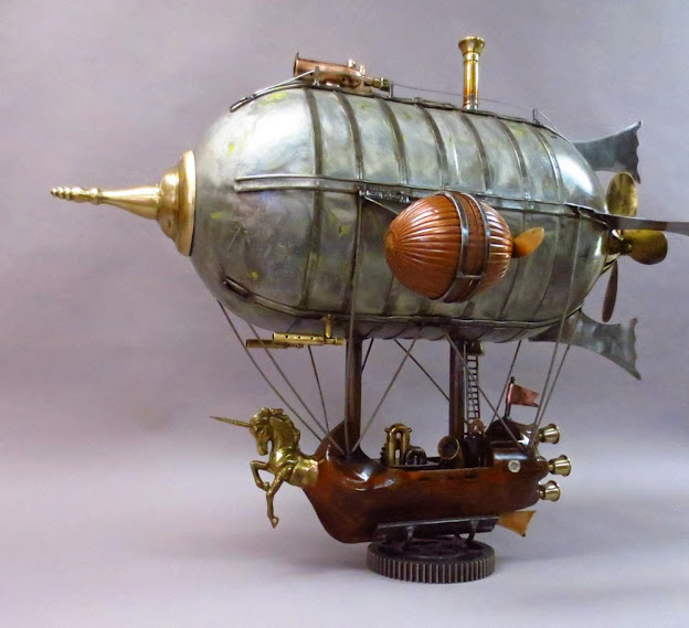 Topic: Unicorn - Steampunk Airship - Complete (Read 3748 times)