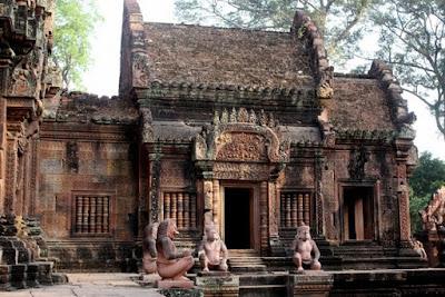 Banteay Srey temple in Siem Reap Cambodia