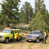 Fox Creek Fire 9-1-09