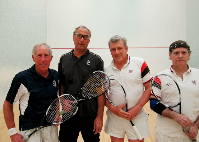 2013 State 60's Doubles: Champions - Lenny Bernheimer & John Brazilian; Finalists - Tom Poor & Malcolm Davidson