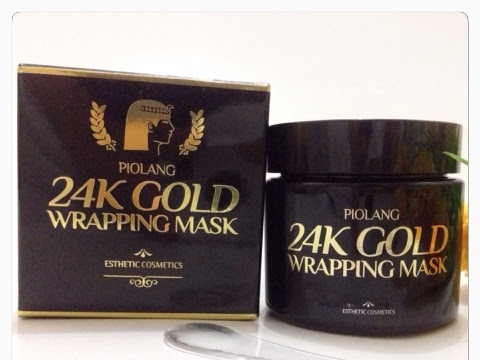 [Review] Piolang 24K Gold Wrapping Mask