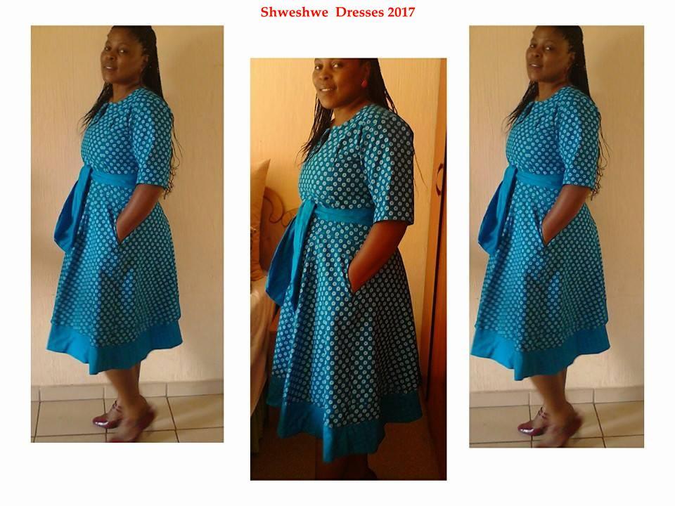 100+ Shweshwe Dresses 2017 Ideas