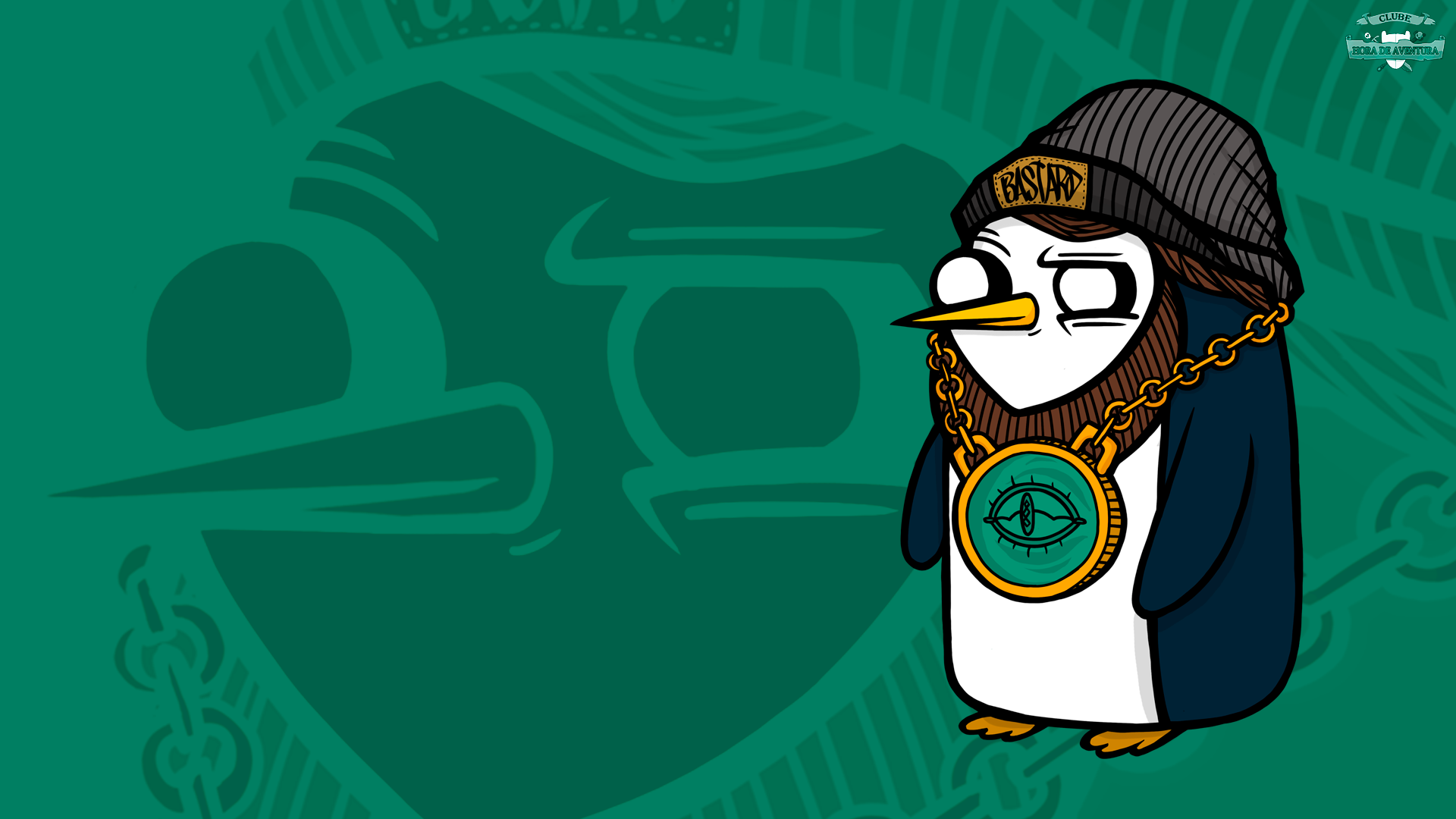 Wallpaper Gunter - Clube Hora de Aventura