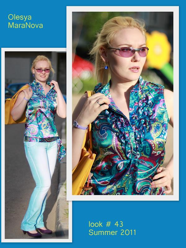 стильный образ, лето 2011 женские луки, фото для портфолио стилиста