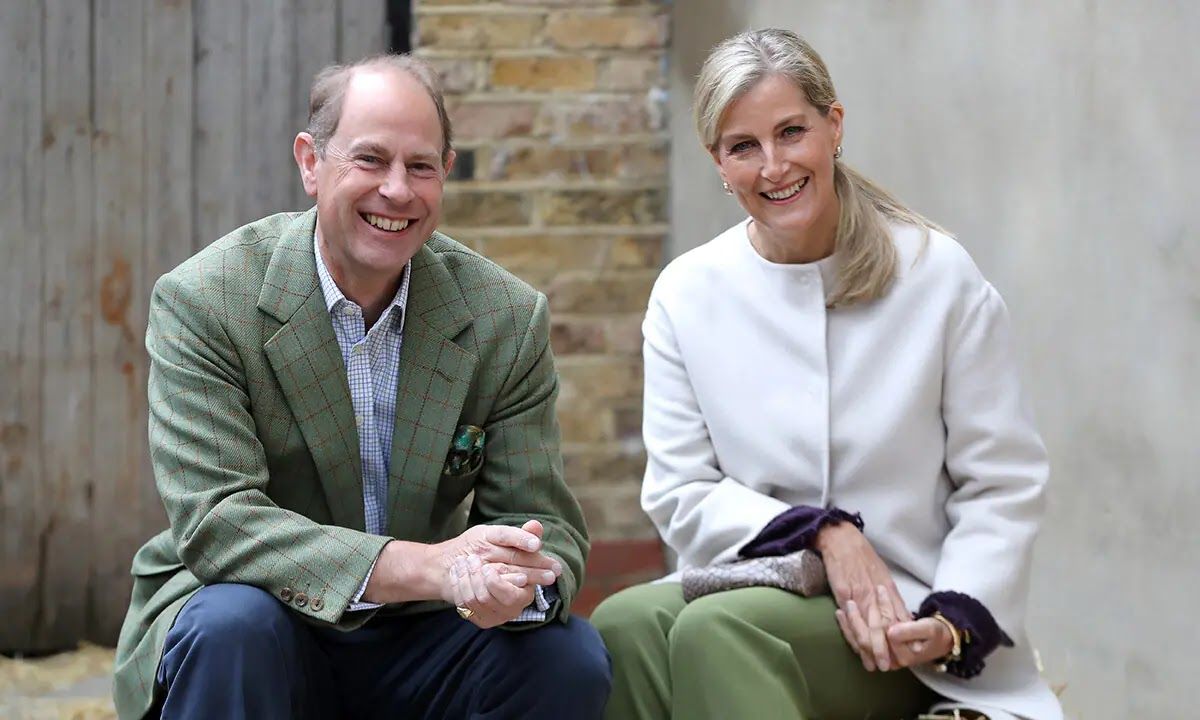 Prince Edward and Sophie Wessex Paid a low-key visit for Special Cause