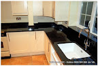 Black Hue Granite Countertop