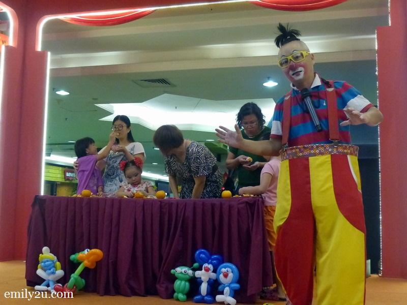 Perak Malaysia clown gathering celebration