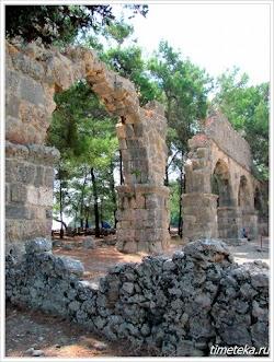 Акведук. Древний Фазелис.