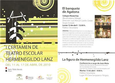 Certamen Hermenegildo Lanza (Peligros, Granada) 12 Abril 2010