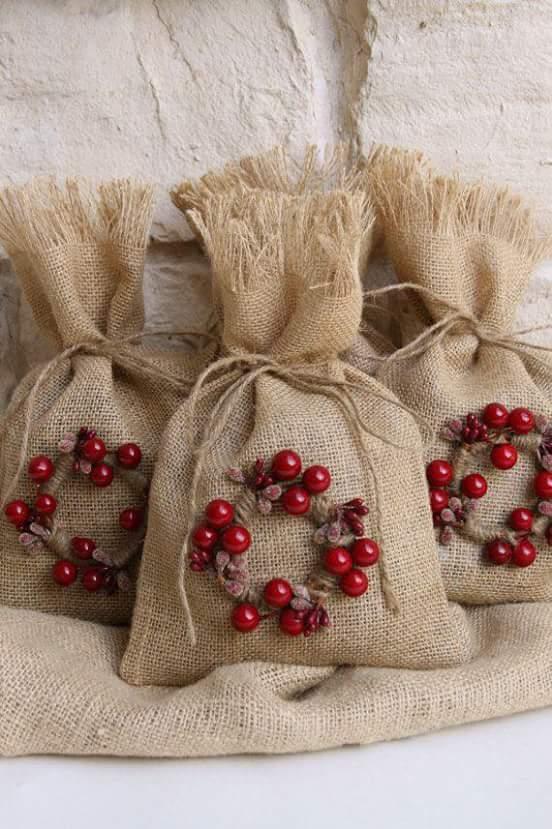 Ideas Con Yute Para Una Navidad Rustica - Manualidades-con-yute