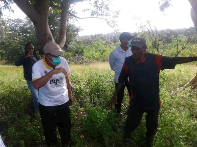 Bupati Lembata Tinjau Lokasi Relokasi di Moting Hurung Wai Esa, Desa Waowala