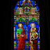 Eglise Saint-Pierre Saint-Paul : vitraux du choeur