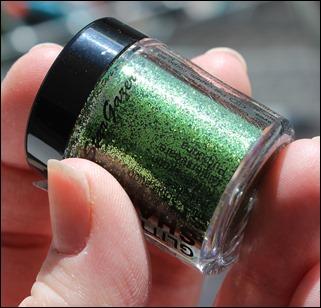 StarGazer Glitter Shaker Swatches Pernoid Green