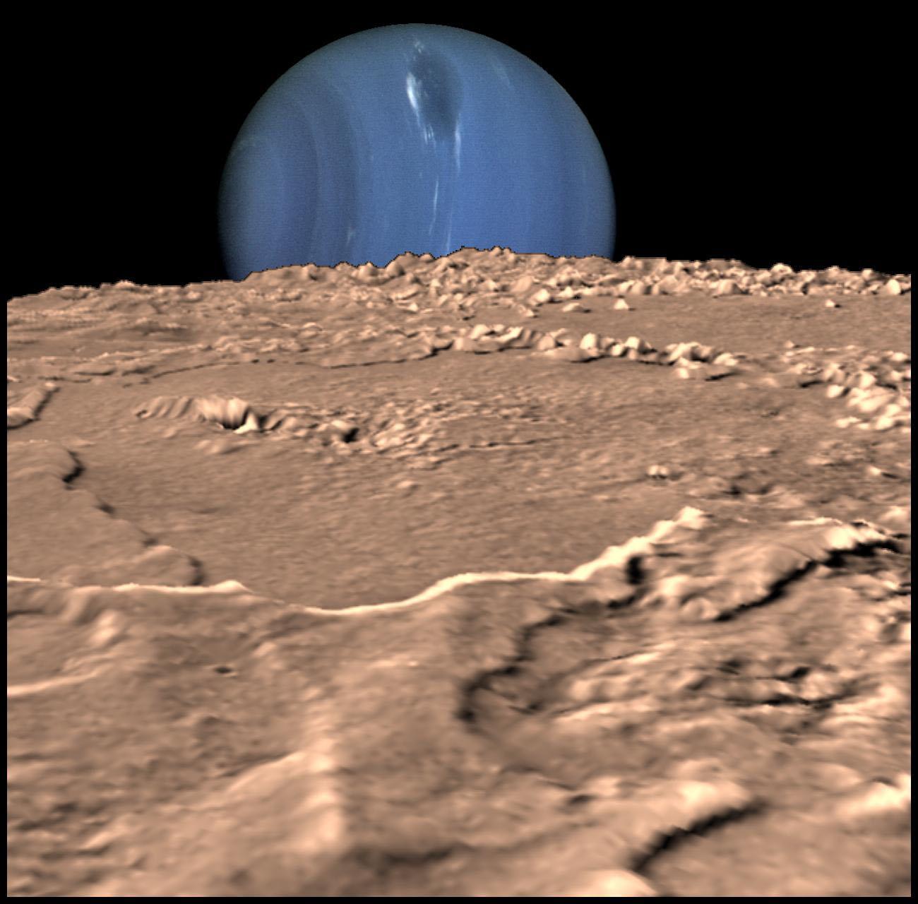 Solitary Dog Sculptor I: Astronomy: Neptune and Triton ...