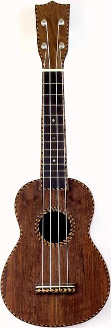 Samwill Rope pacific walnut Soprano ukulele