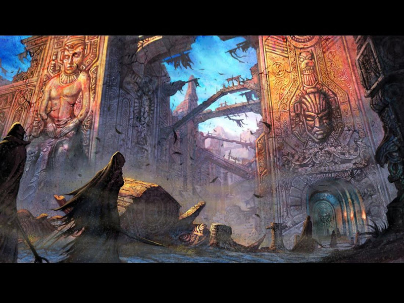 Horror Landscape Of Deep 2, Magical Landscapes 3