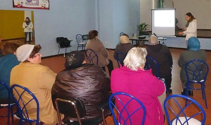 Sessão de educação para a Saúde realizada na freguesia da Penajóia