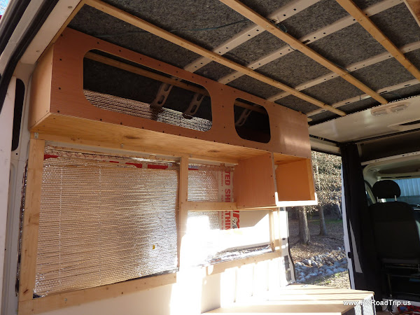 Ram Promaster Rv Camper Van Conversion Walls Ceiling