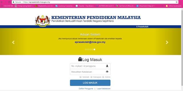 PANDUAN LENGKAP PERMOHONAN ONLINE E-PRASEKOLAH KEMENTERIAN PENDIDIKAN MALAYSIA