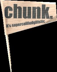 Chunk flag